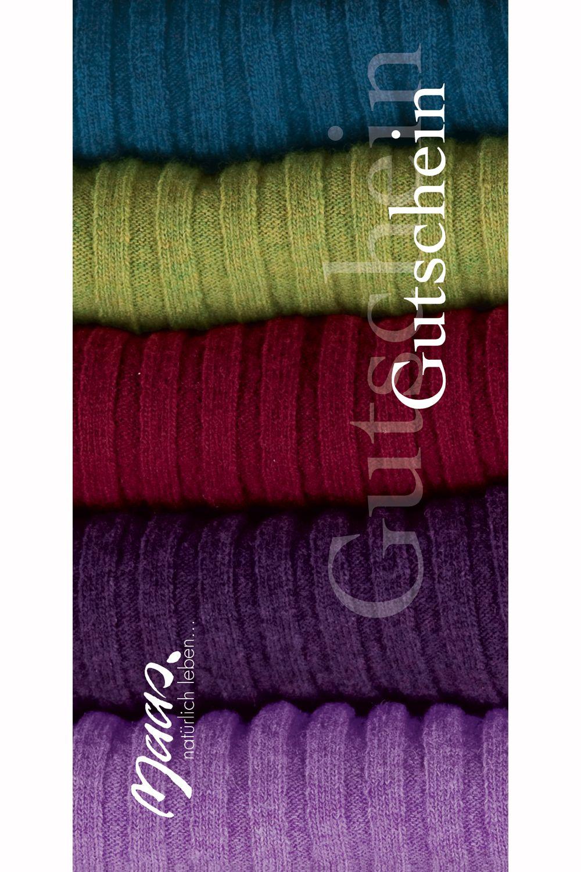 Gutschein Textil