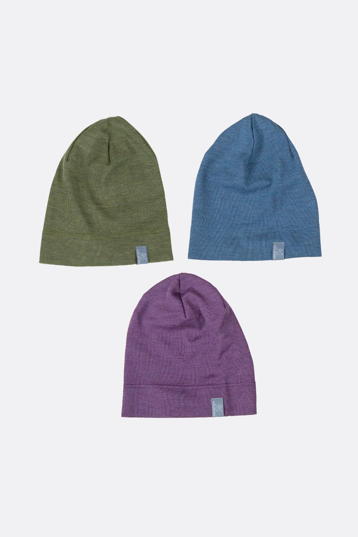 Wolle/Seide-Mütze