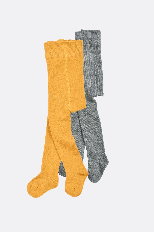 Wolle/Baumwolle Strumpfhose, uni