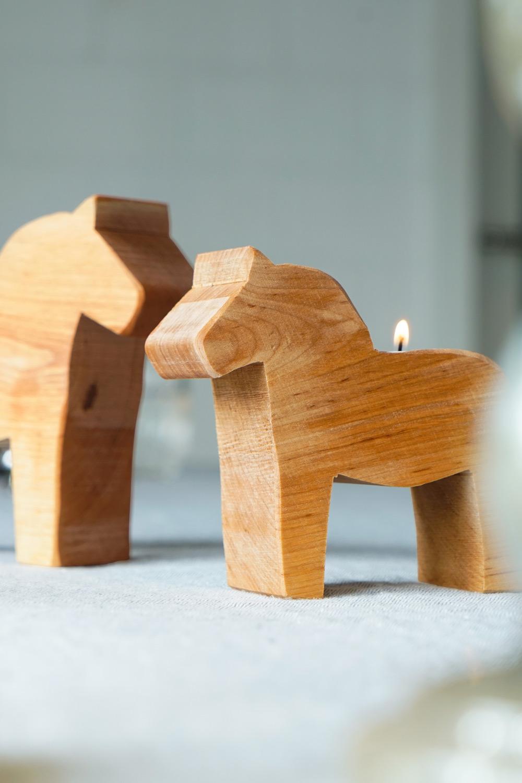 Leuchter 'Dala-Pferd'