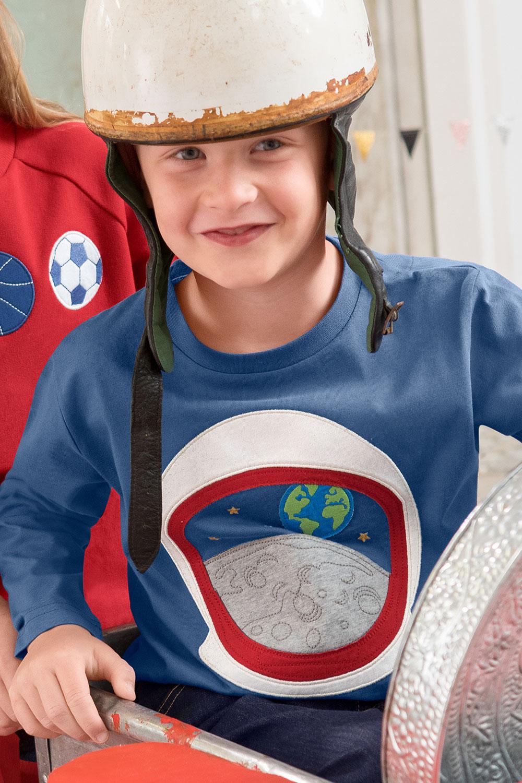 Shirt Paddeln, Astronaut