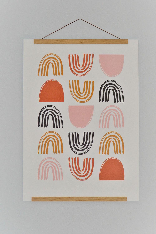Posterleisten aus Eichenholz