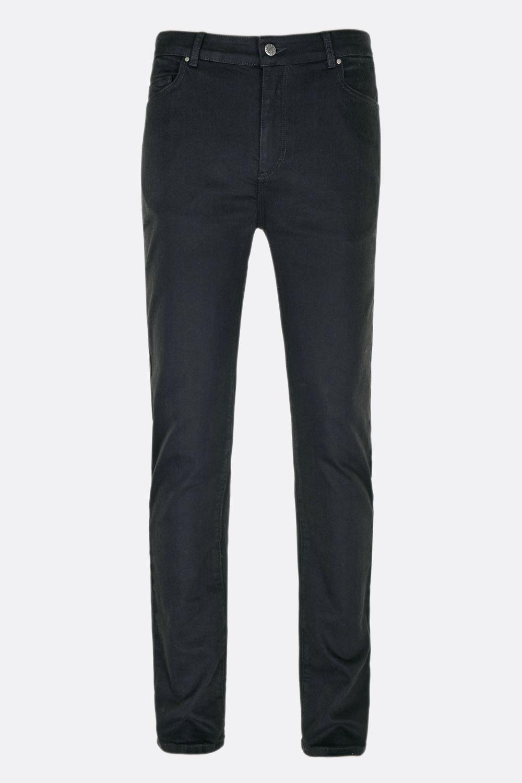 Herren Deep Black Jeans