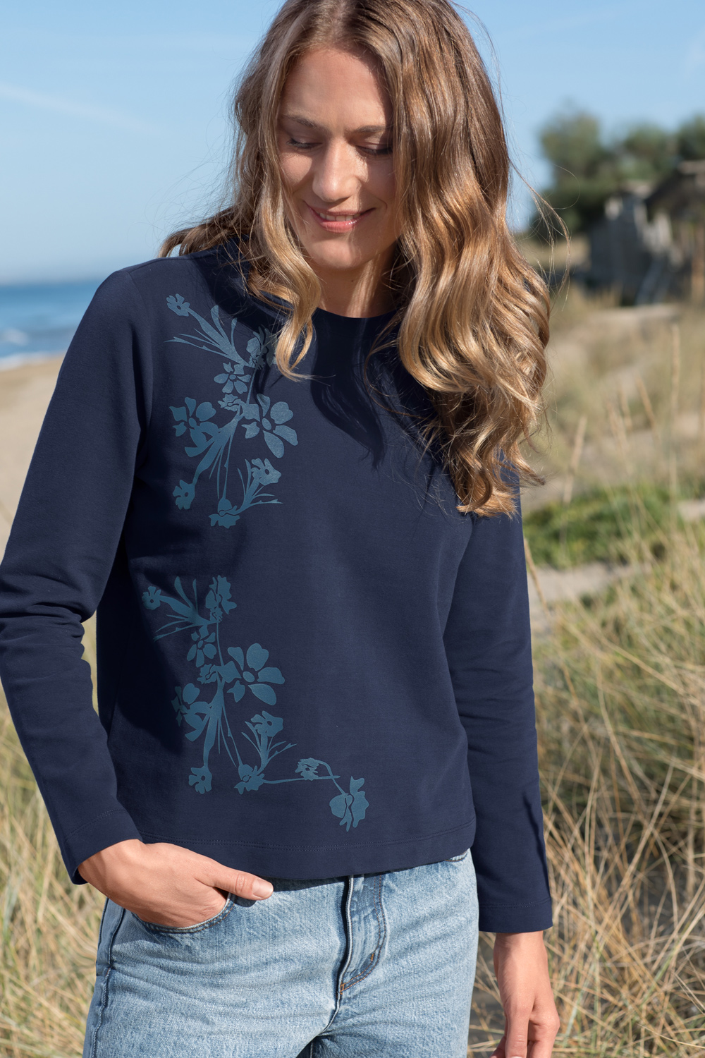 Sweater Blumen