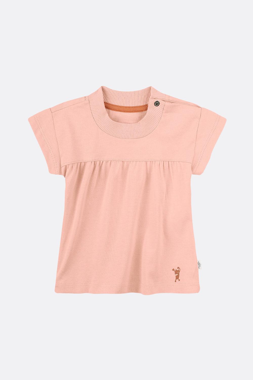 Shirt mit Kräuselnaht