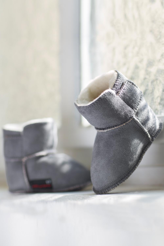 Lammfell Stiefelchen