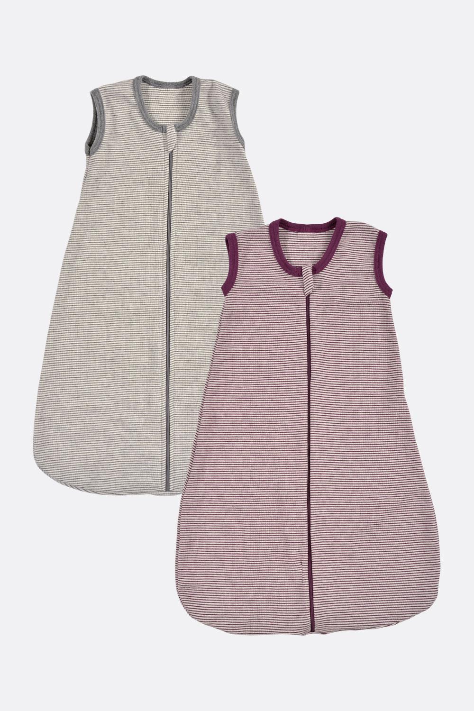Wolle/Seide Schlafsack, geringelt
