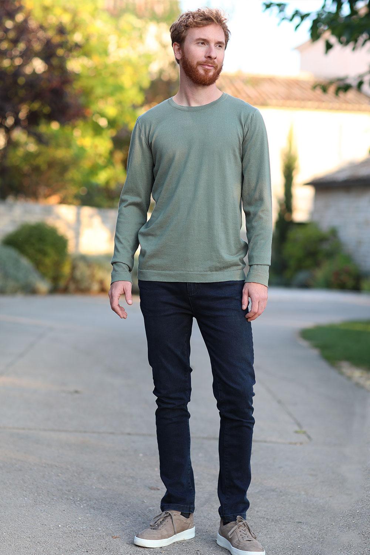 Herren Jeans Blueblack