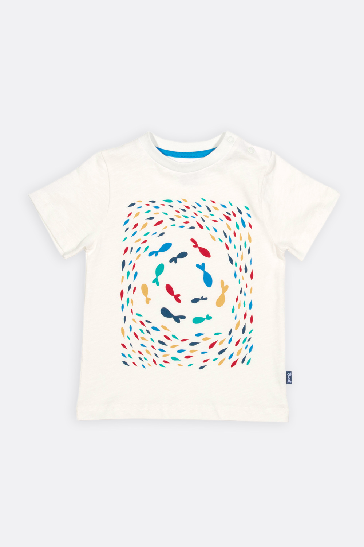 Shirt Bunte Fische