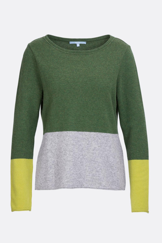 Merino Colourblocking Pullover