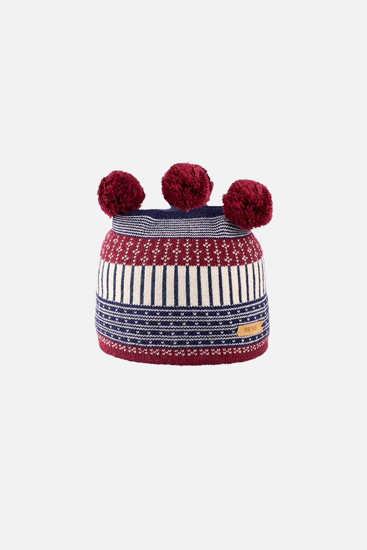 Wolle/Seide/Baumwolle Mütze Sami