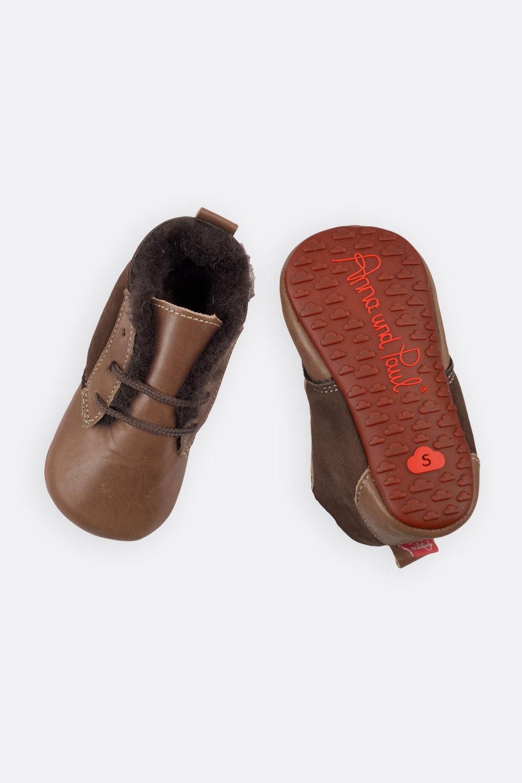 Lammfell-Schuhchen