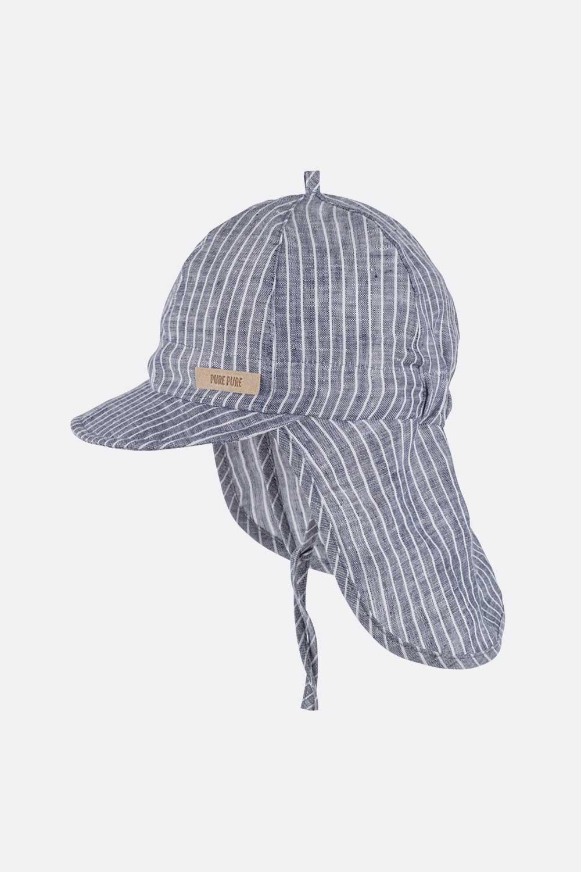 Leinen Nackenschutz-Cap