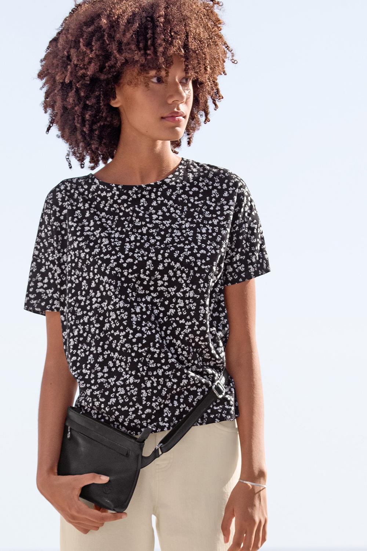Oversized Shirt Knospen