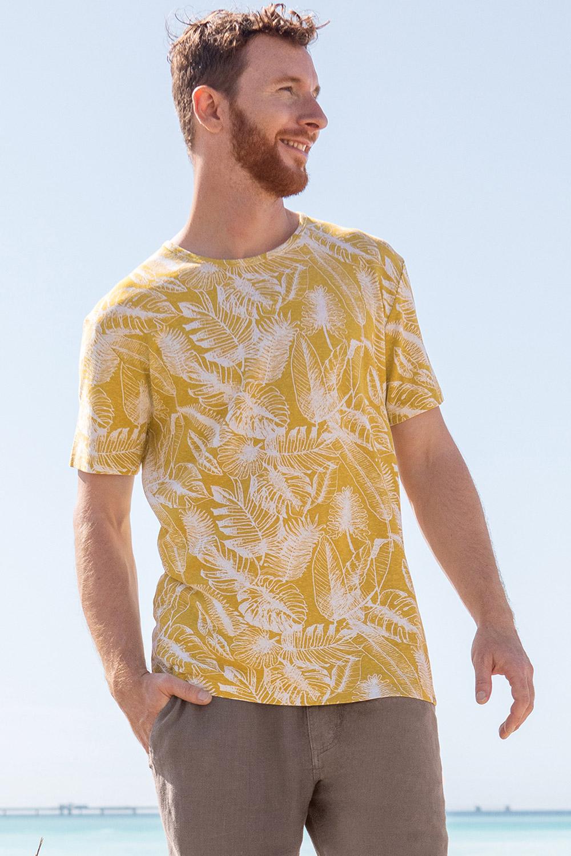 Herren Hanf-Baumwoll T-Shirt Jungle