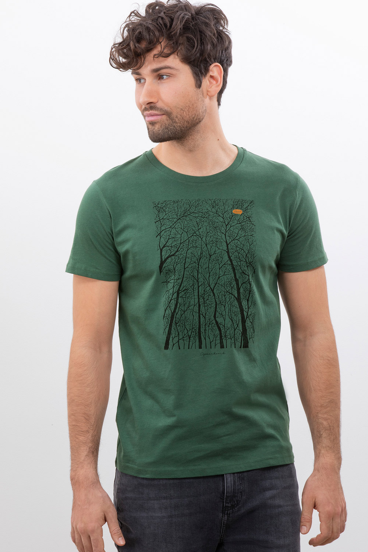 Herren T-Shirt Forest