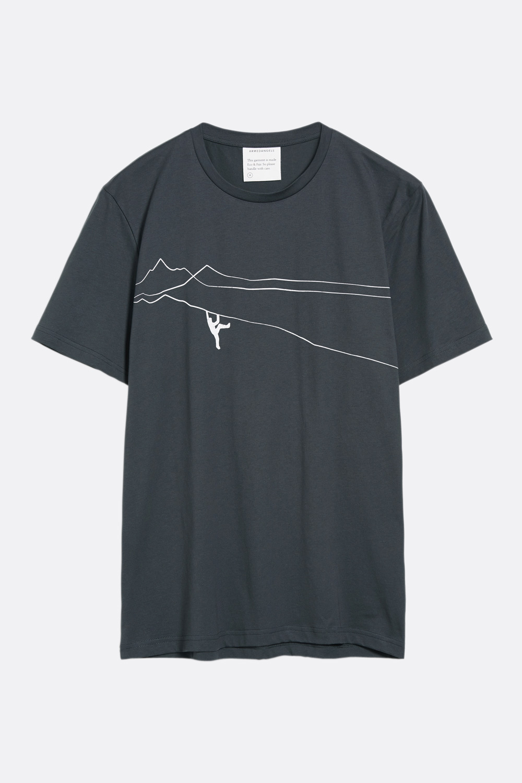 Herren T-Shirt Mountain Climber