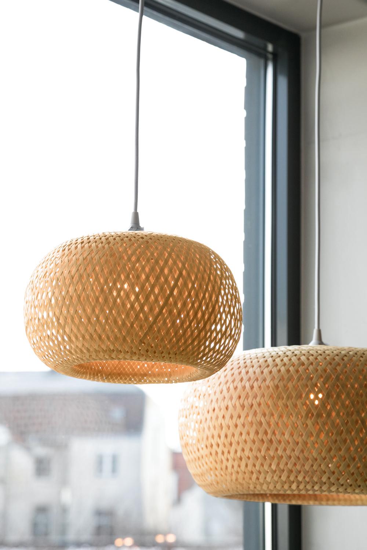 Bambuslampe