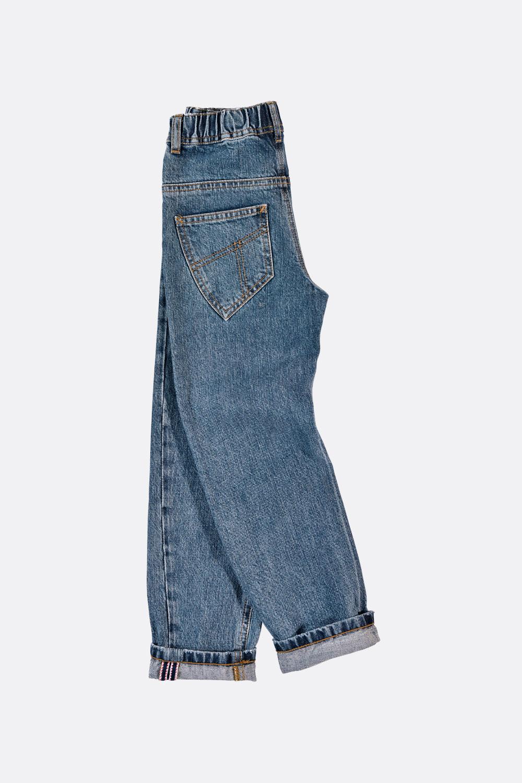 Krempel-Jeans, helle Waschung