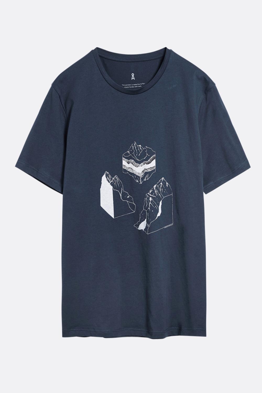 Herren T-Shirt Geo