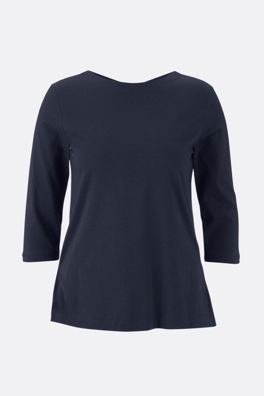 Shirt mit Volantsaum hinten