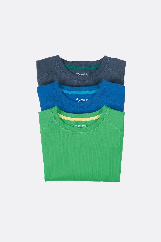 Basicshirt 1/1-Arm, gerade Form