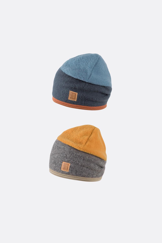Wollfleece Mütze