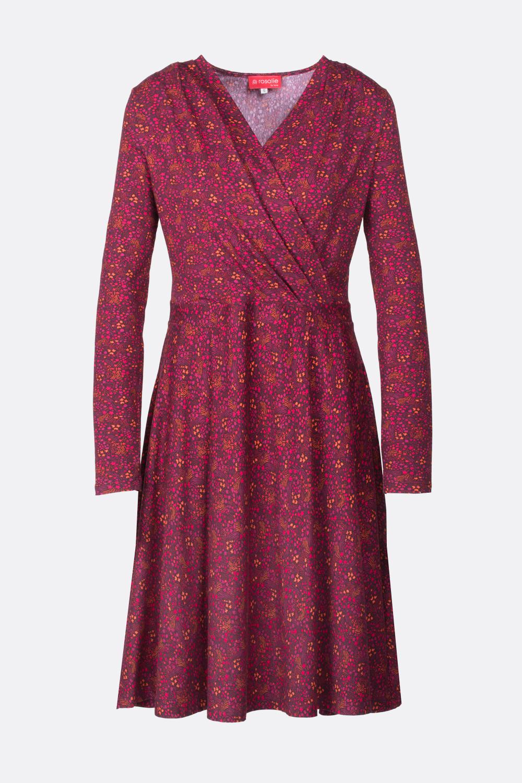Jerseykleid Streublümchen