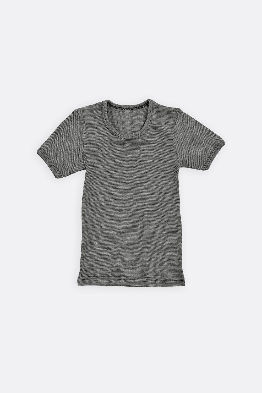 Shirt 1/4 Arm Wolle / Seide