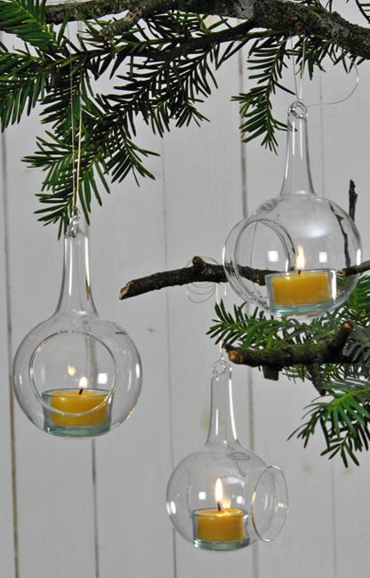 Baumlichtkugel, 3er-Set