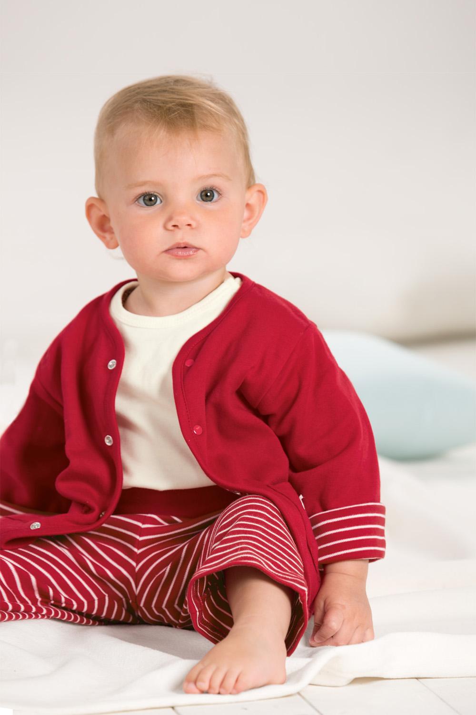 Baby T-Shirt, uni, Kurzarm