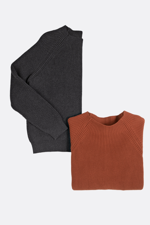Baumwoll Patent-Pullover