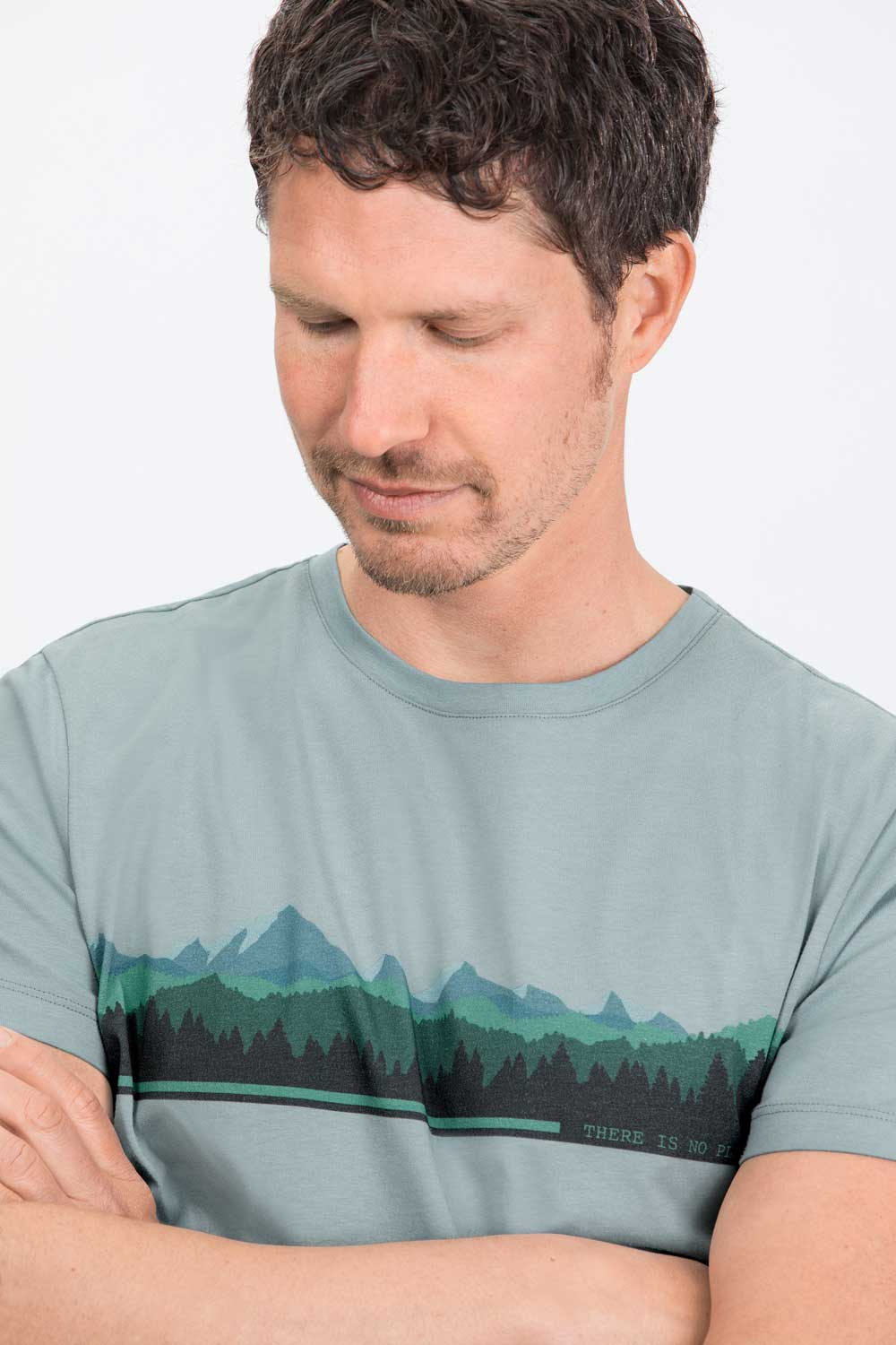 Herren T-Shirt Mountains