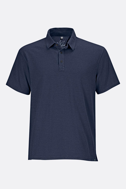 Herren Hanf-Baumwoll Poloshirt