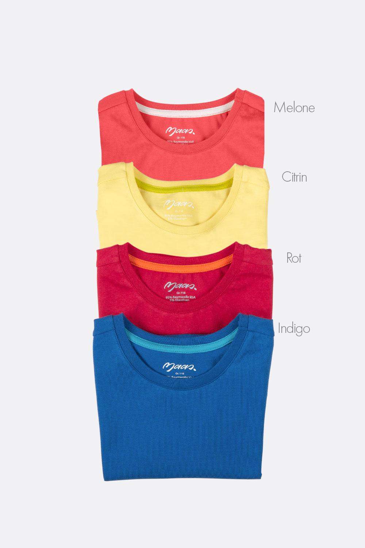 Basicshirt, Kurzarm