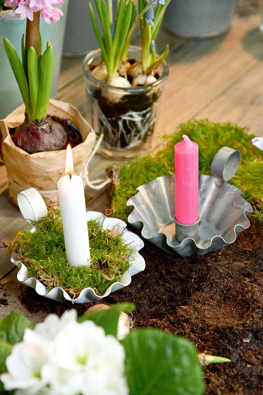 Kerzenhalter 'Kuchenform'