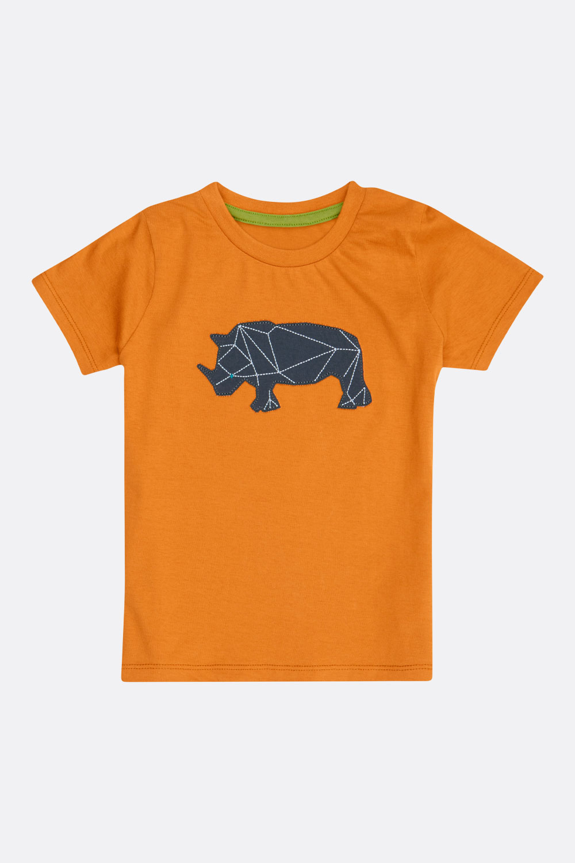 Flammé-Shirt Nashorn/Elefant