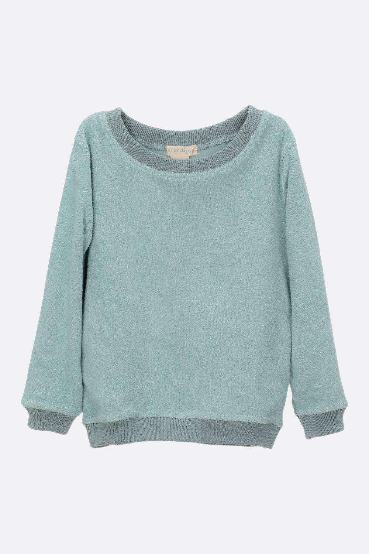 Frottee Sweatshirt