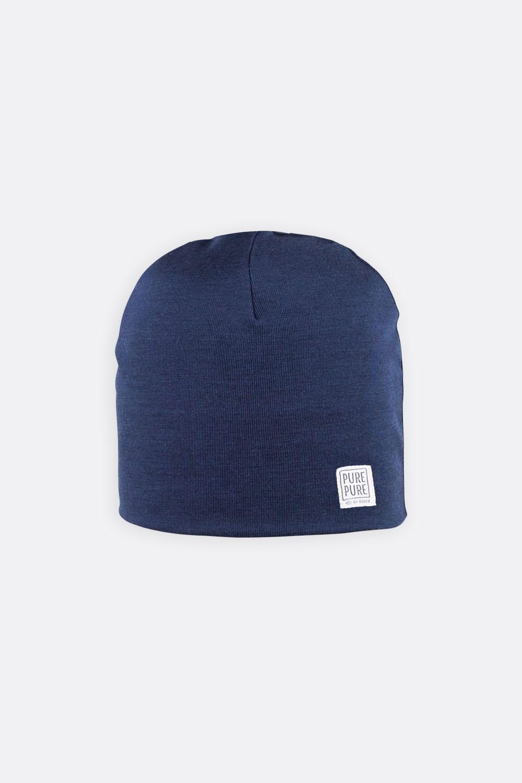 Wolle / Seide Mütze