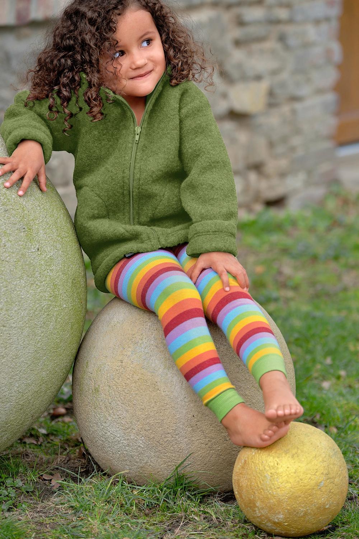 Legging in Regenbogenfarben