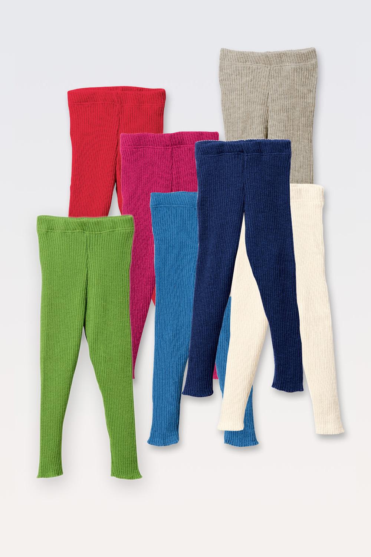 Strick-Legging