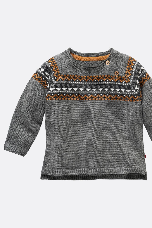 Pullover mit Norwegerpasse