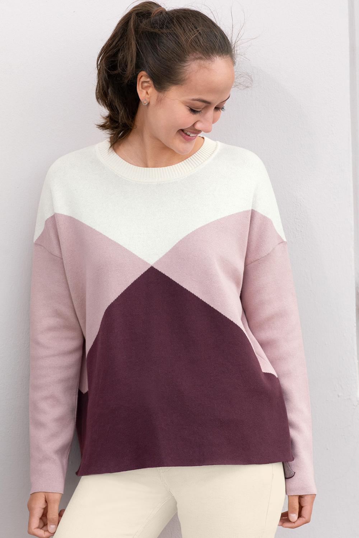 Colorblock Pullover