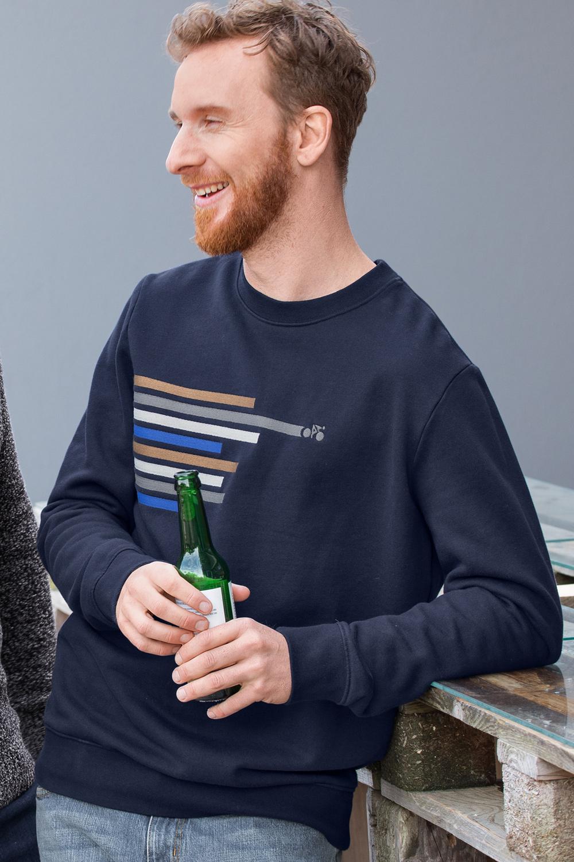 Sweatshirt Bike Lines