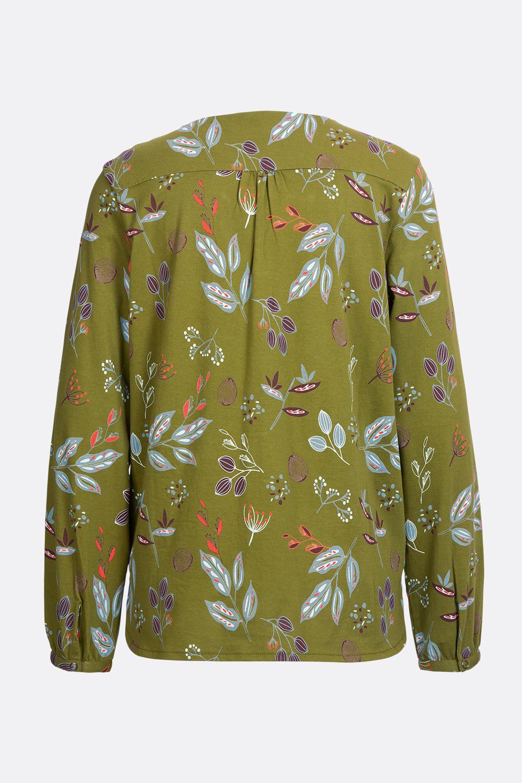 Blusenshirt Blätterreigen