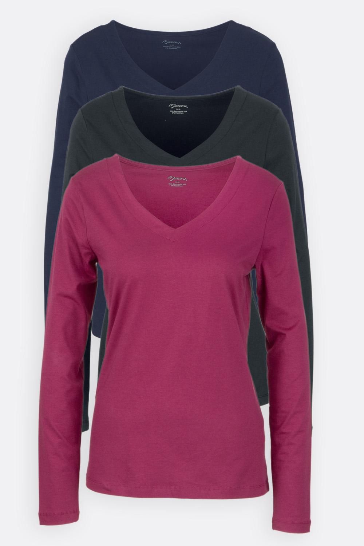 Schmales V-Shirt