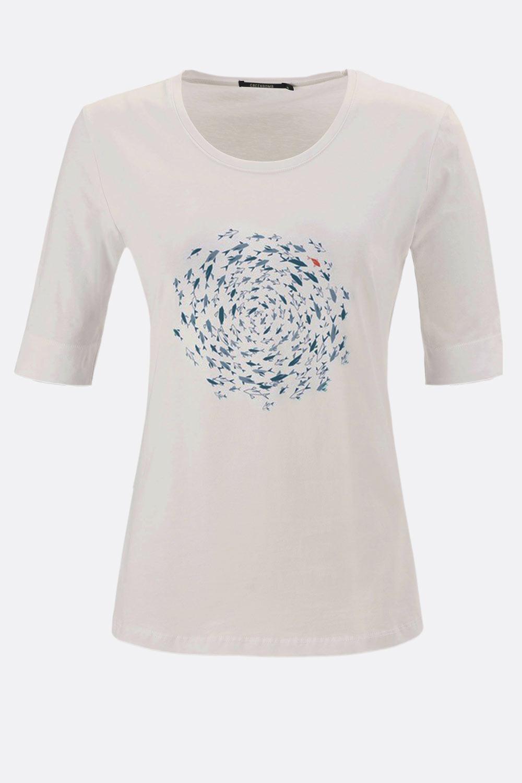 Shirt Fischschwarm