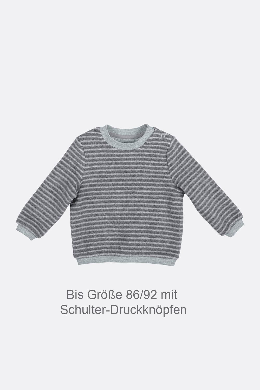 Baumwoll-Fleece Sweater