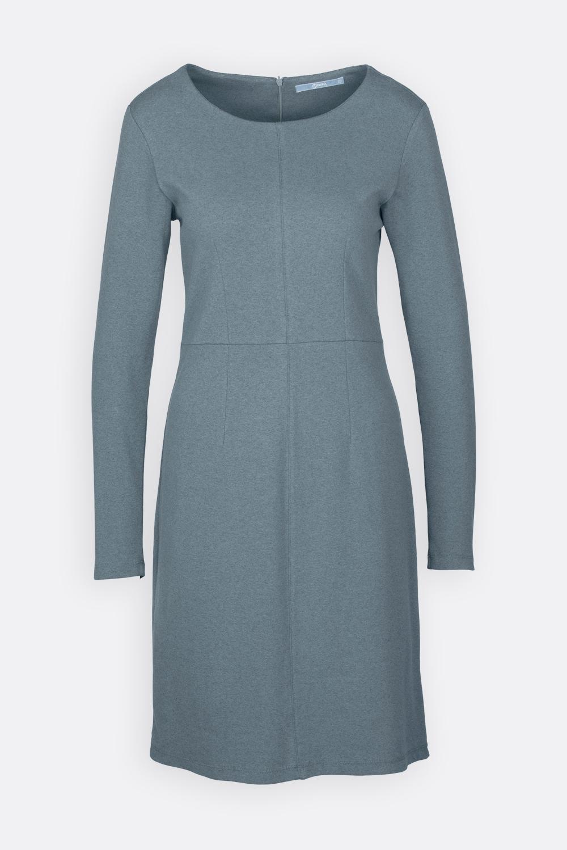 Meliertes Jerseykleid