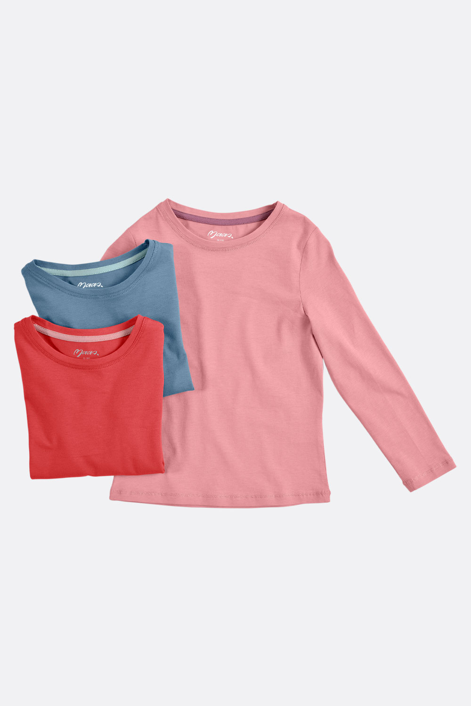 Basic-Langarmshirt, leicht tailliert
